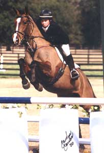 Becky Crockett and B.B. Babauska win Open Intermediate B photo by Carolyn Carnes
